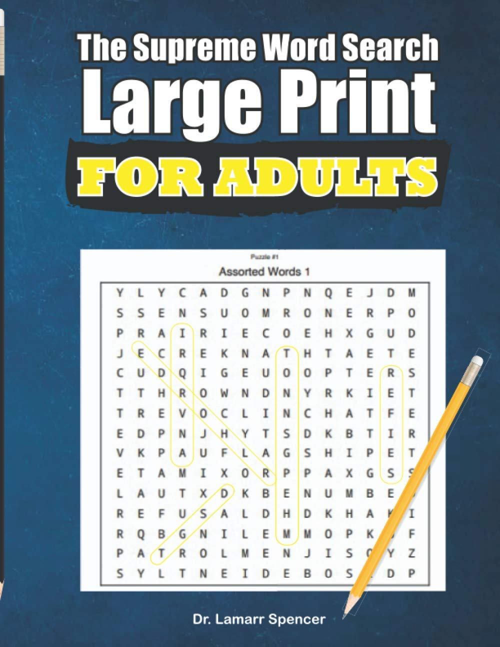 The Supreme Word Search ( Large Print) For Adults